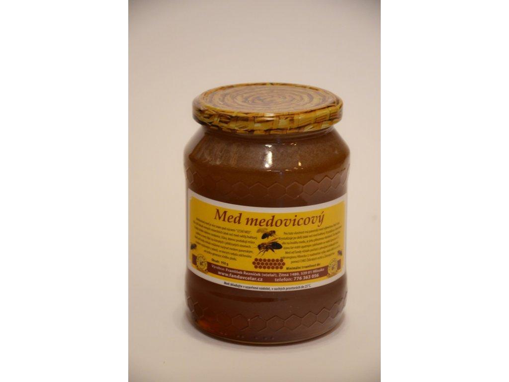 Včelařství Řezníček - Med medovicový - 0,95 kg