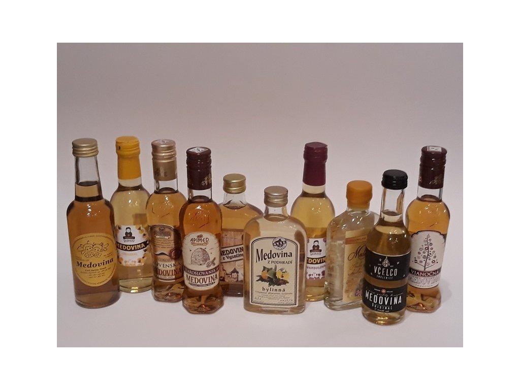 Ochutnávkový set na pátek (10 ks)  sklo