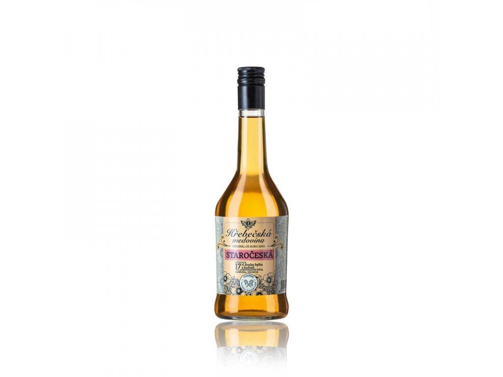 Hřebečská medovina - staročeská - 0,5 l