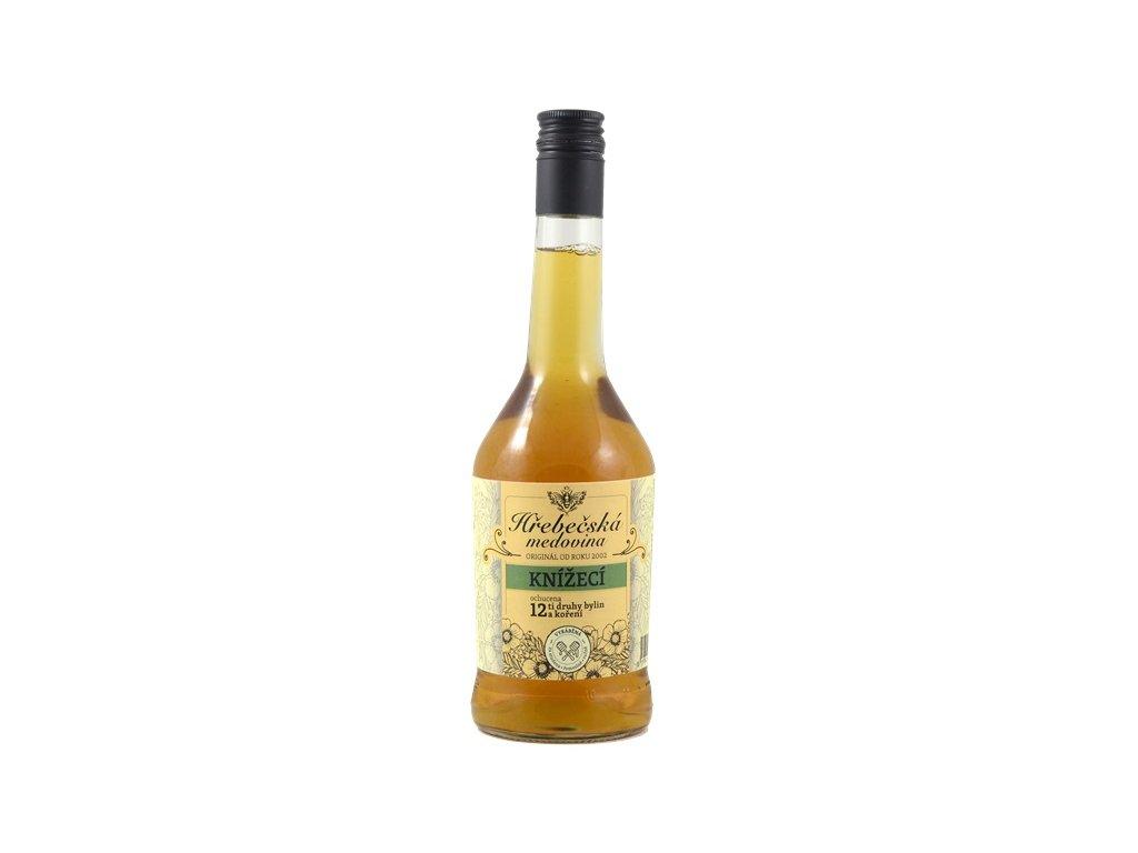 Hřebečská medovina - knížecí (nová) - 0,5 l