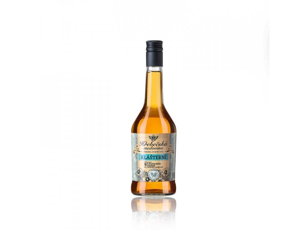 Hřebečská medovina - klášterní - 0,5 l