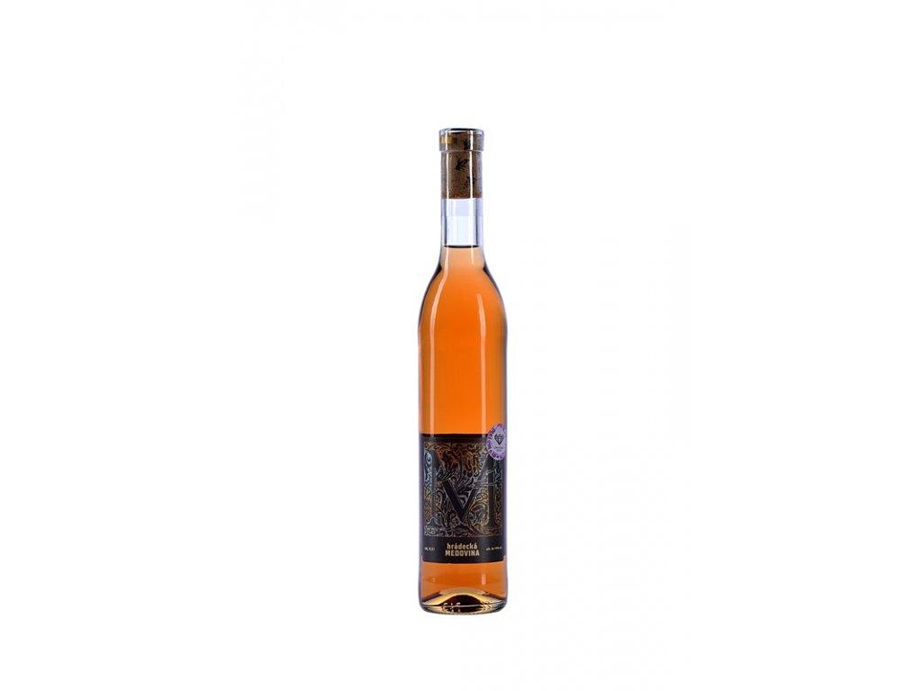Medárna Hrádek - Hrádecká medovina - melomela s borůvkou - 0,5 l  sklo