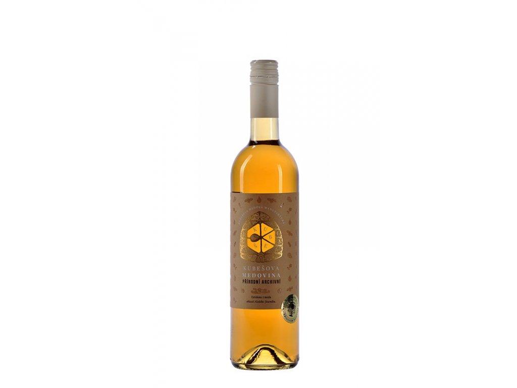 Kubešův med - Kubešova medovina - přírodní archívní (lesní med) - 0,75 l  sklo