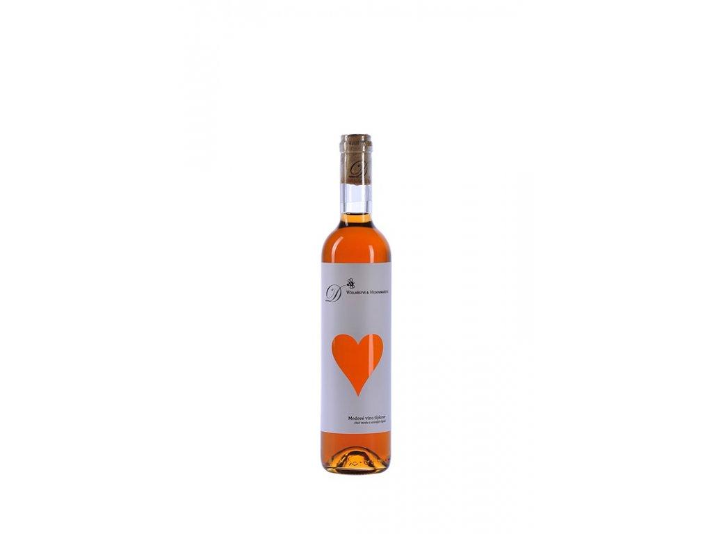 Dvořák - Včelařství a medovinařství - Medové víno šípkové - 0,5 l  sklo
