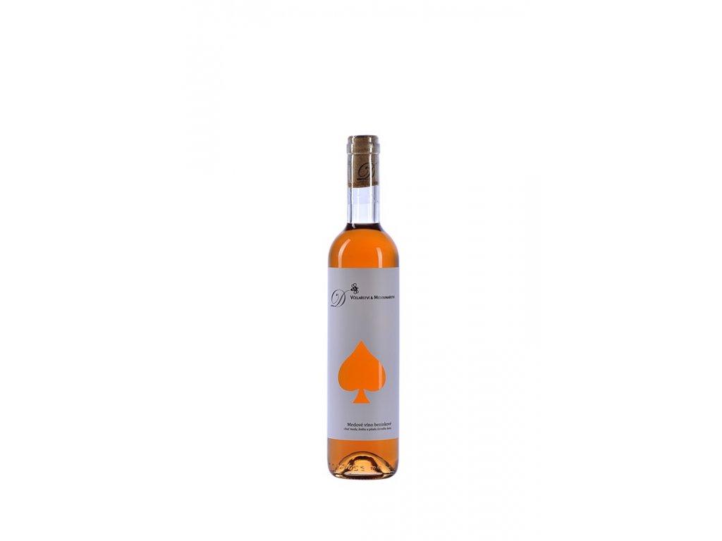 Dvořák - Včelařství a medovinařství - Medové víno bezinkové - 0,5 l  sklo