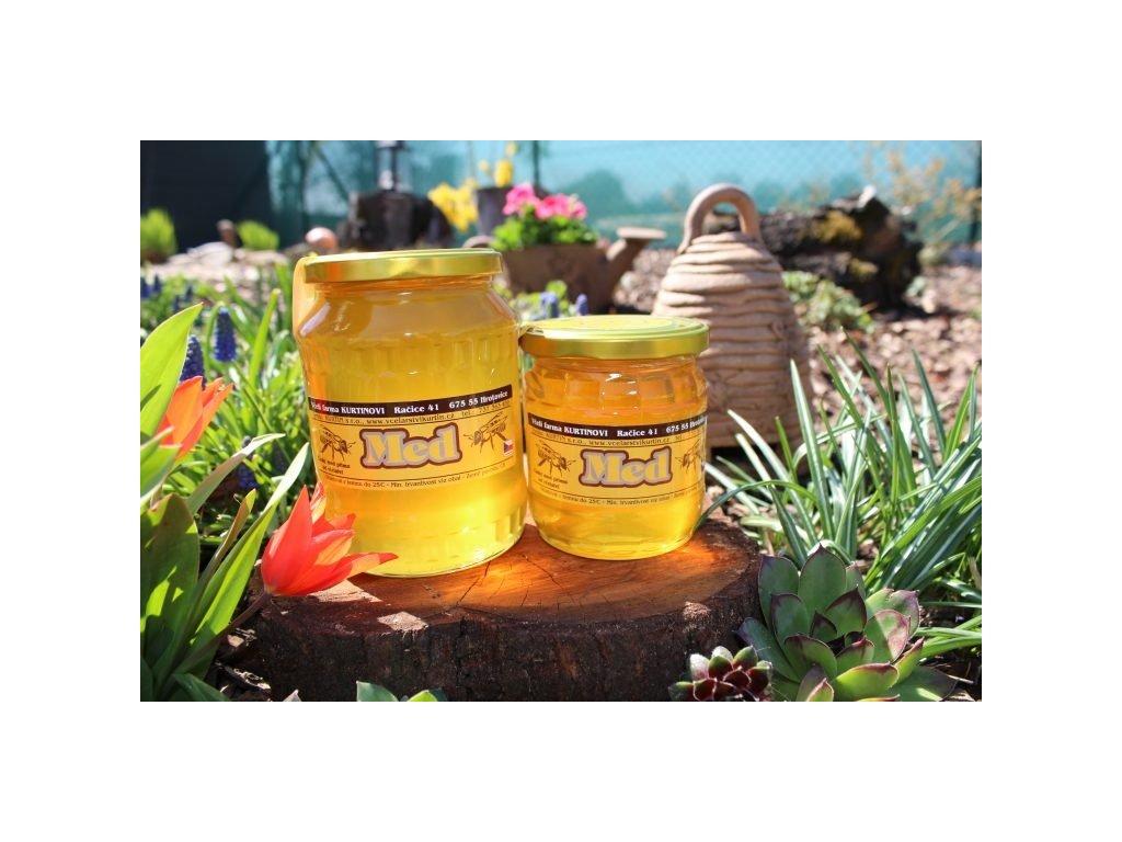Včelí farma Kurtinovi - Med lipový - 0,95 kg
