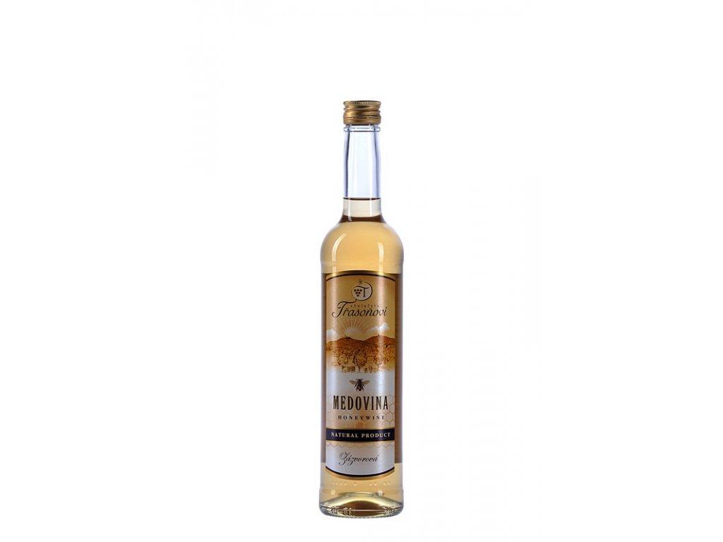 Včelařství Trasoňovi - Medovina zázvorová - 0,5 l  sklo