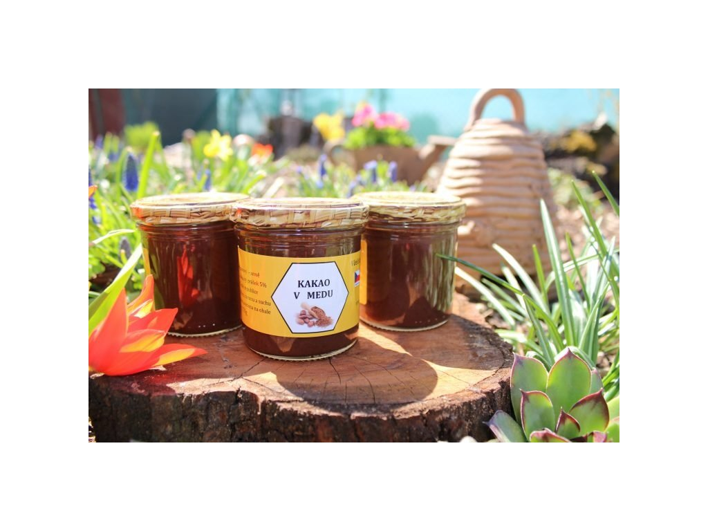 Včelí farma Kurtinovi - Kakao v medu - 0,17 kg  sklo