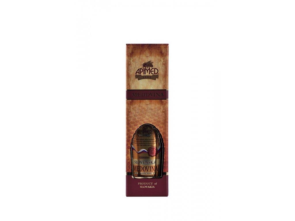 Apimed - Slovenská medovina Original v DELUX dárkové krabičce