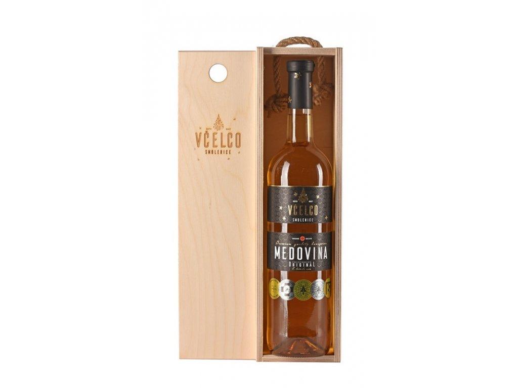 Včelco - Včelovina Original v dřevěném dárkovém boxu