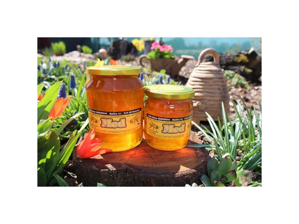 Včelí farma Kurtinovi - Med květový - 0,95 kg