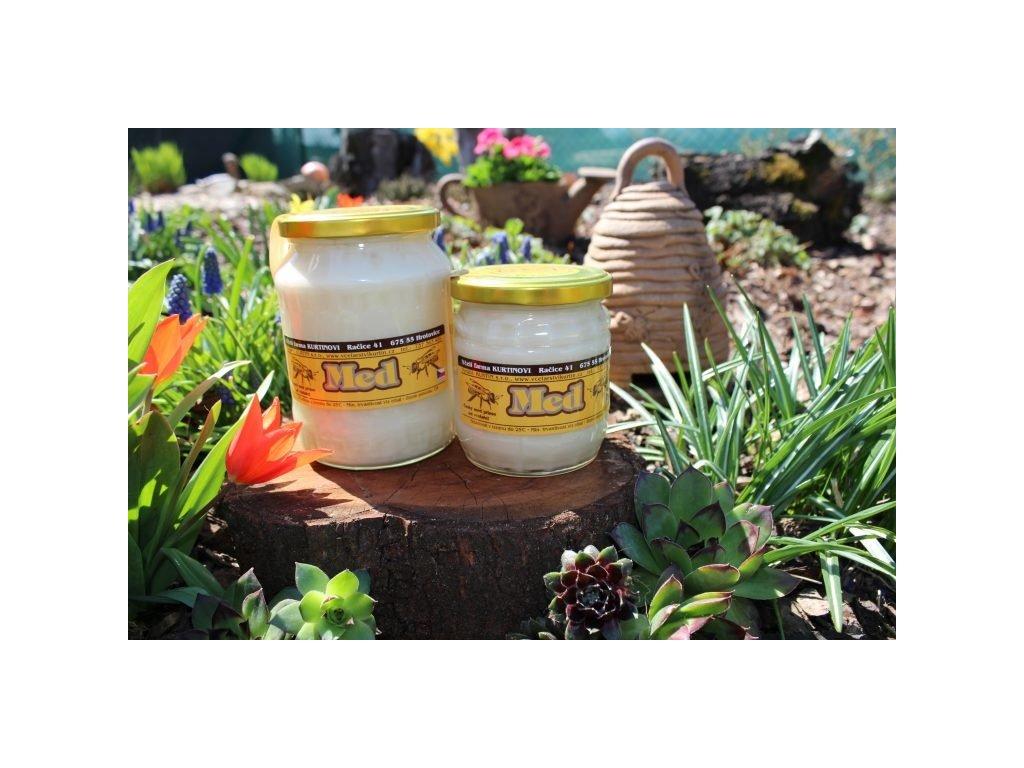 Včelí farma Kurtinovi - Med květový pastový - 0,95 kg