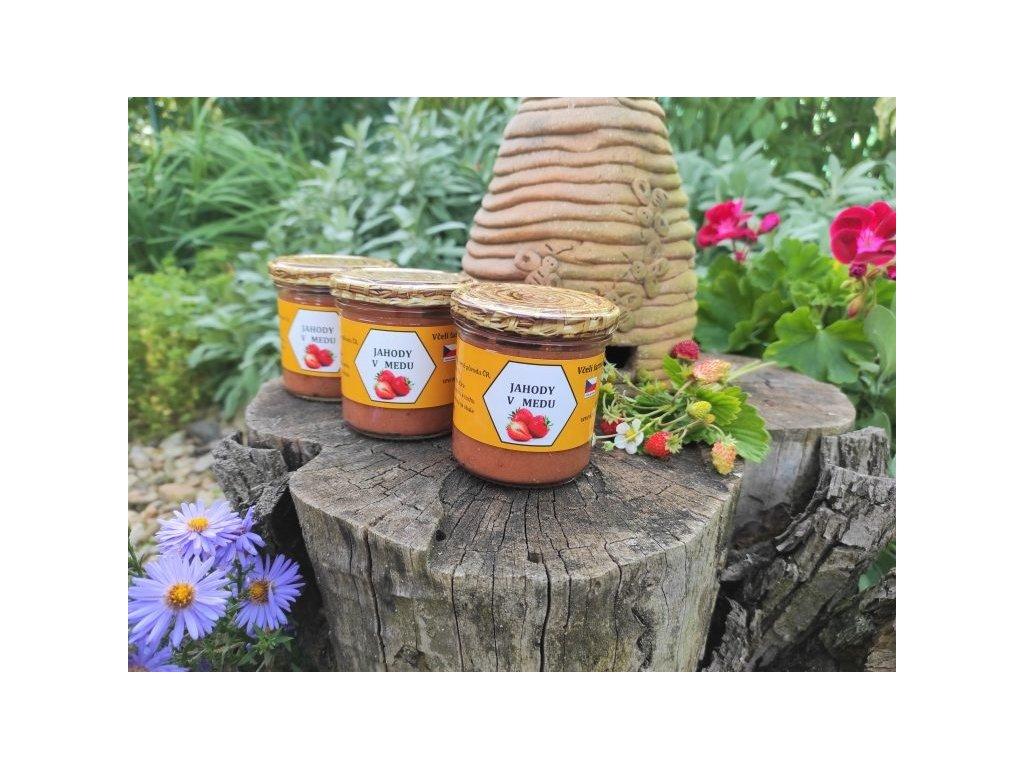 Včelí farma Kurtinovi - Jahody v medu - 170 g