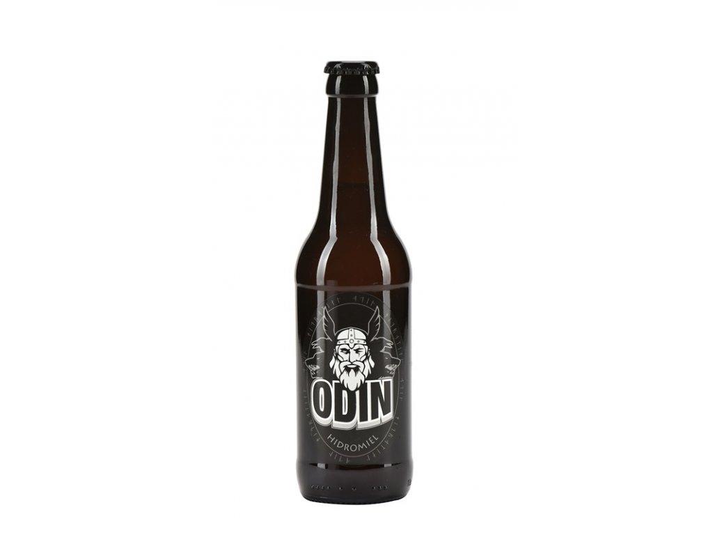 Hidromiel Odin - Medovina Odin (karton 12x 0,33l)  sklo