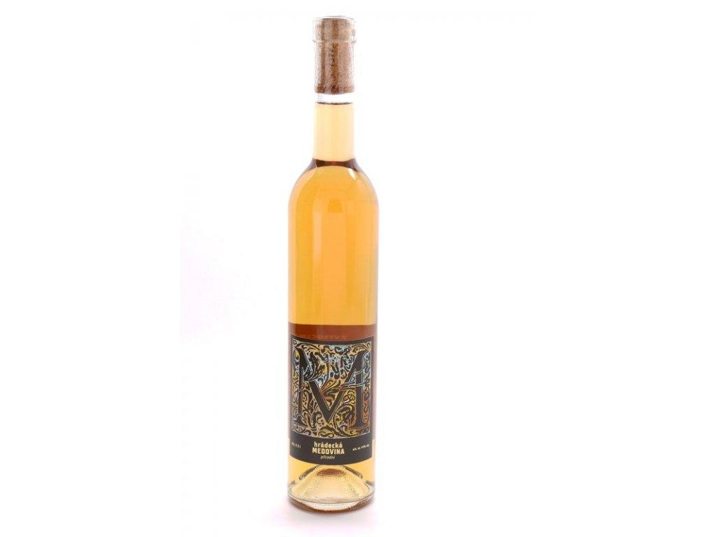 Medárna Hrádek - Hrádecká medovina (přírodní) - 0,5 l  sklo