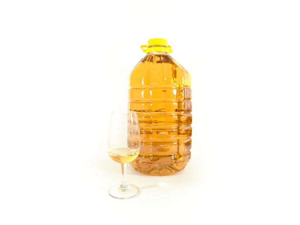 Hřebečská medovina - skořicová - 5 l  plast