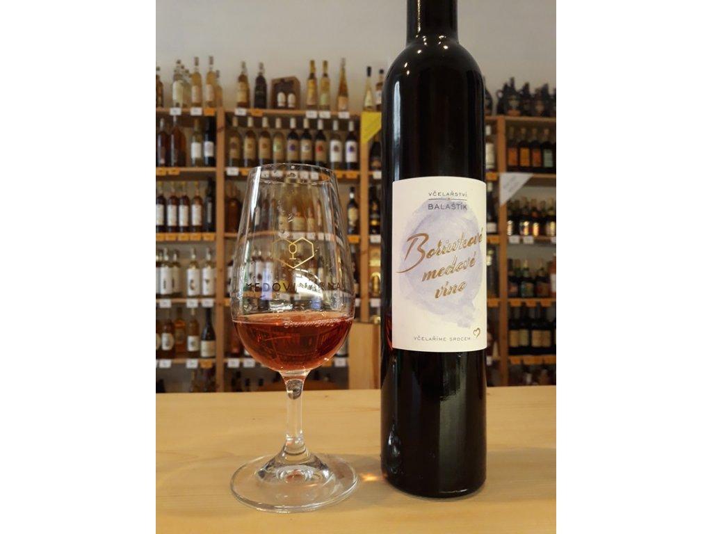 Včelařství Balaštík - Borůvkové medové víno - 0,375 l