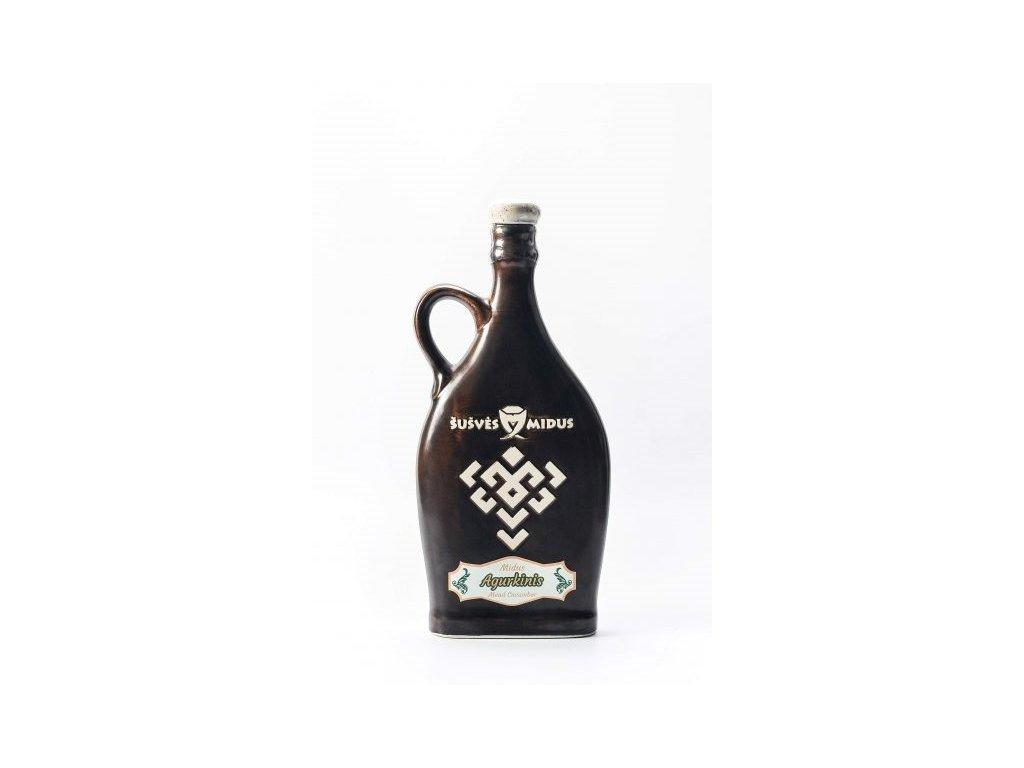 Šušvės midus - Midus Agurkinis (okurková medovina) - 0,5 l  keramika