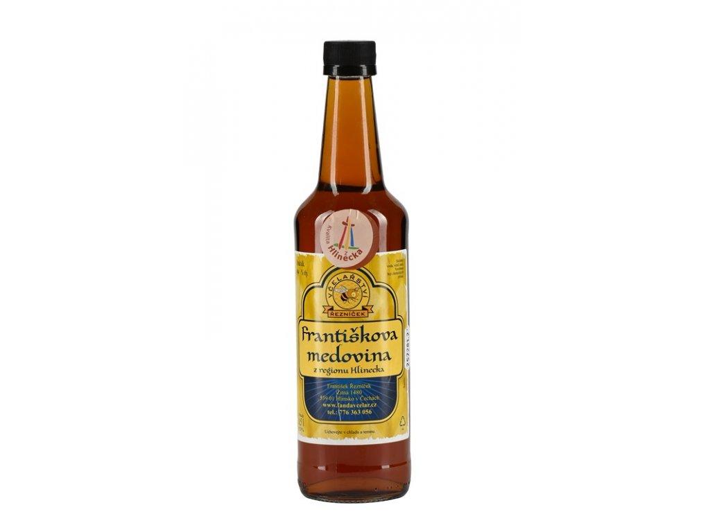 Včelařství Řezníček - Františkova medovina (s višněmi) - 0,5 l  sklo