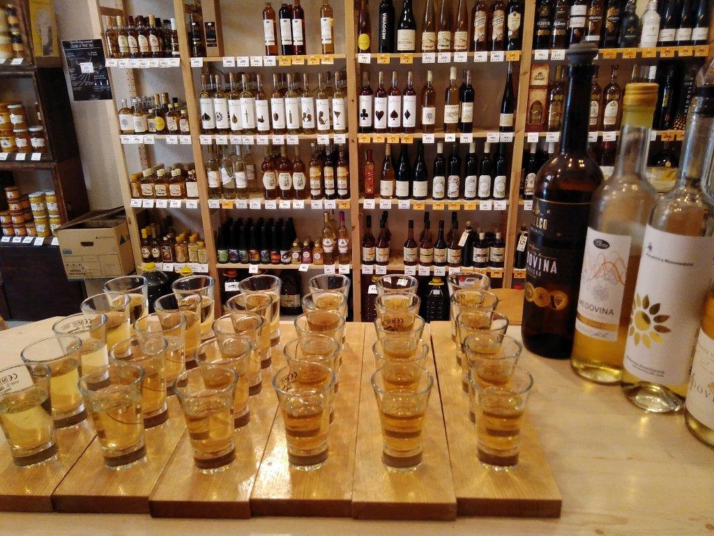 Klubová degustace medovin - 7.10.2021 (předprodej)