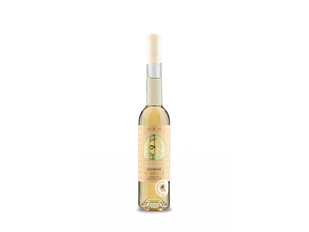 Kubešův med - Kubešova medovina - bezinková - 0,35 l  sklo