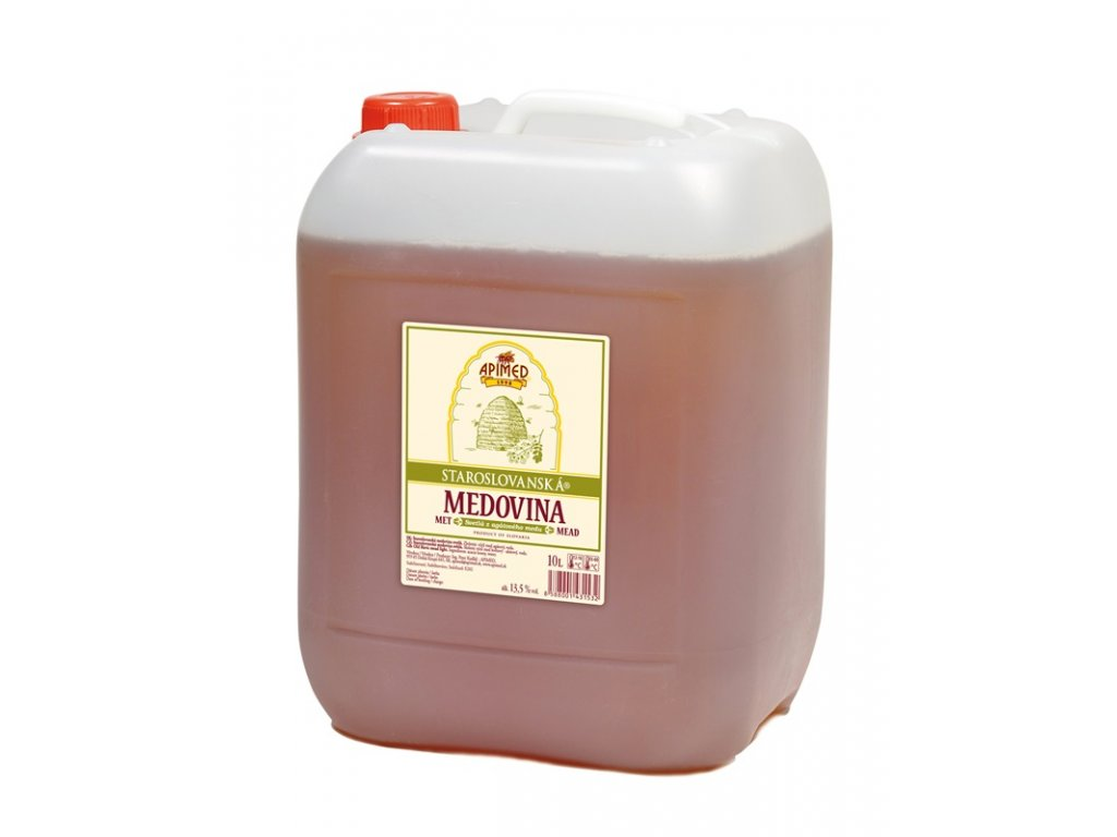 Apimed - Staroslovanská medovina - světlá z akátového medu - 10,00l  plast