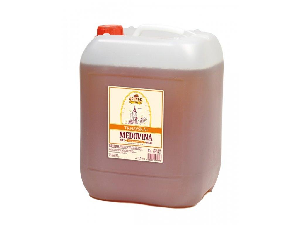 Apimed - Trnavská medovina - z květového medu - 10,00l  plast