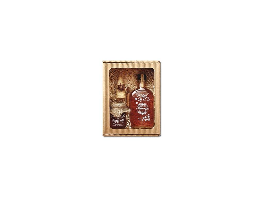 Tekovská medovina - Dárkový set s Tekovskou medovinou - 0,2 l