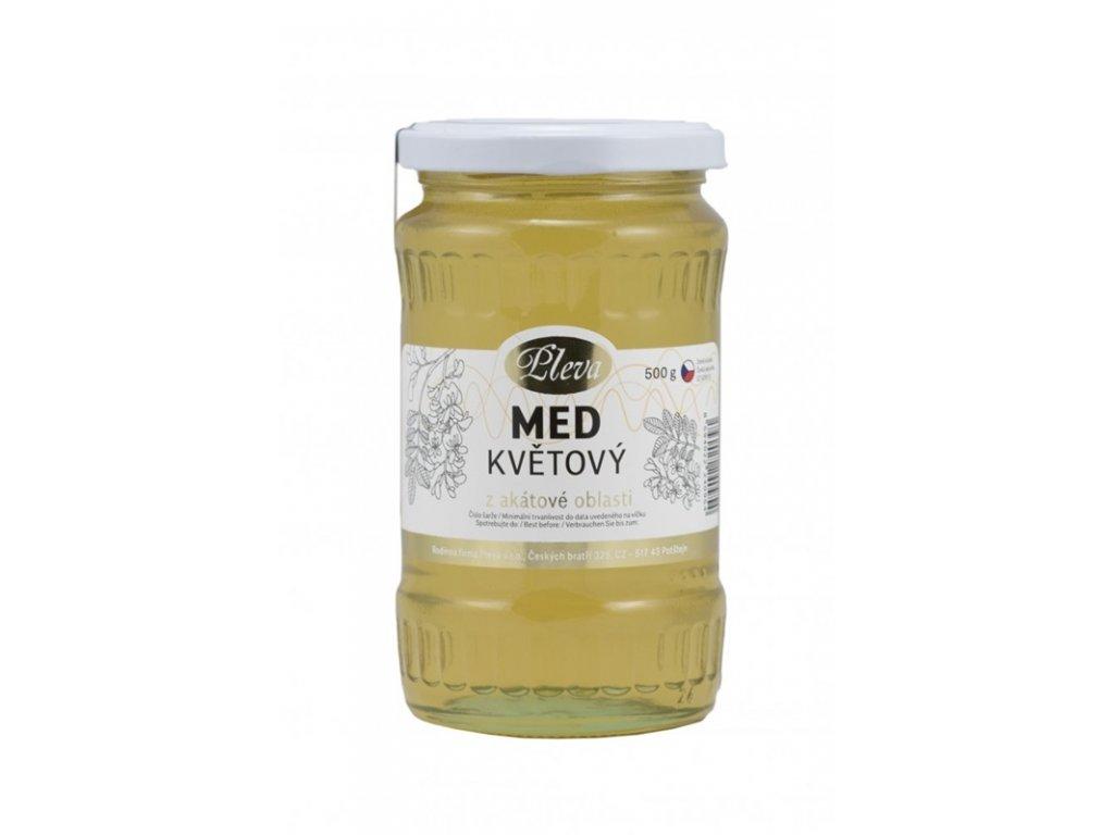 Pleva - Med květový z akátové oblasti - 0,5 kg