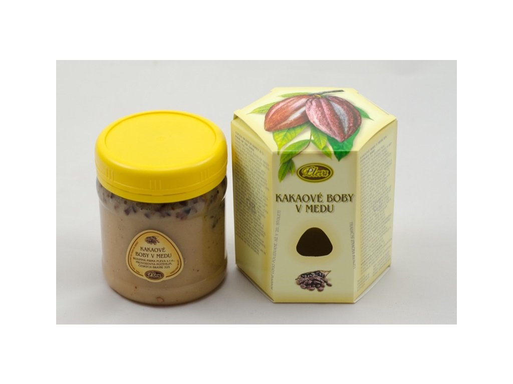 Pleva - Kakaové boby v medu - 0,25 kg