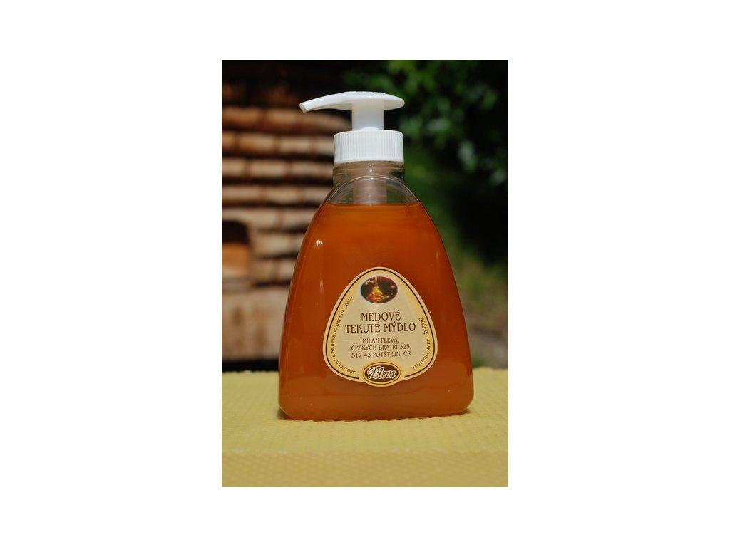 Pleva - Medové tekuté mýdlo na ruce - 0,30kg