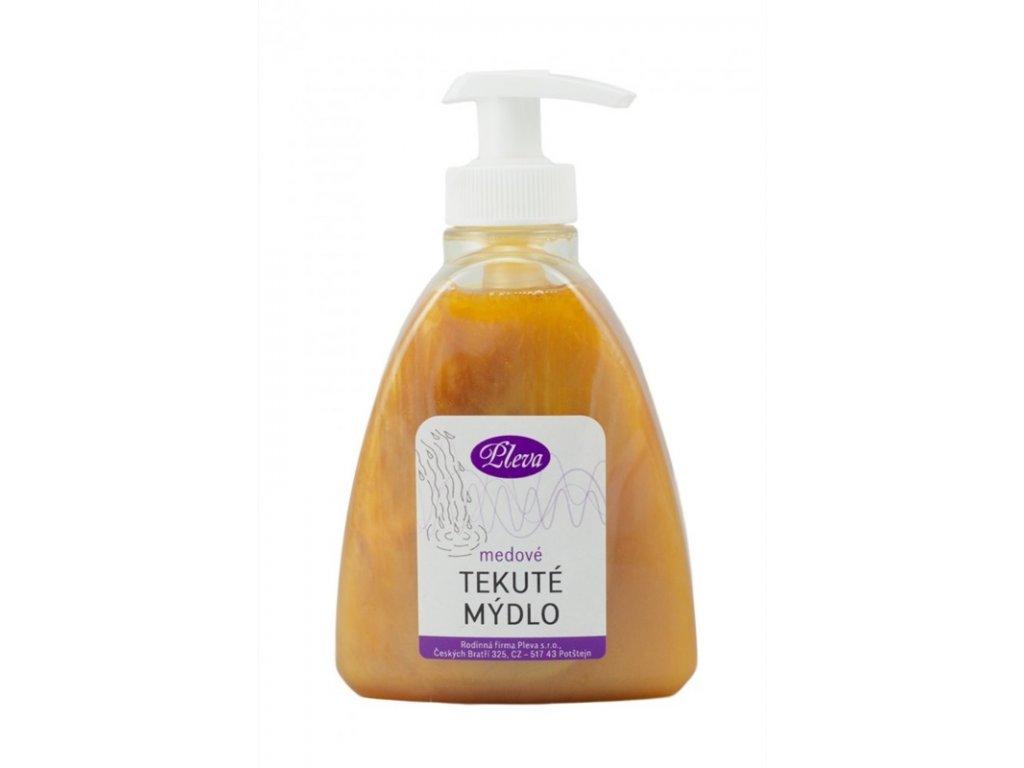 Rodinná firma Pleva - Medové tekuté mýdlo na ruce - 0,30kg