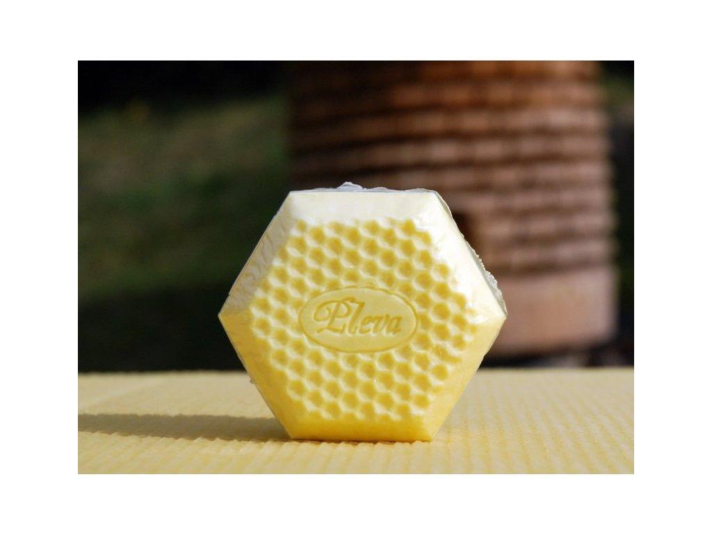 Pleva - Medové mýdlo - 0,09kg