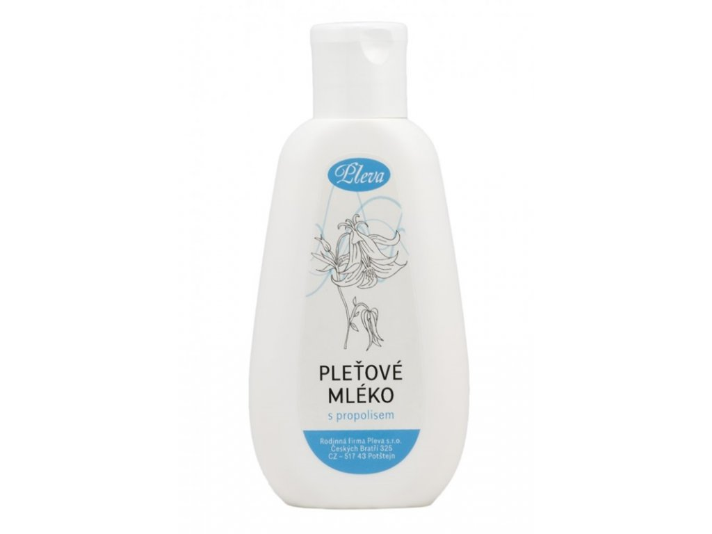 Pleva - Pleťové mléko s propolisem - 0,1 kg