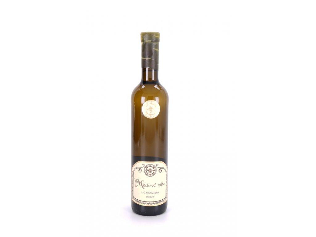 Jaroslav Lstibůrek - Medové víno z Českého lesa - archivní (květový med) - 0,5 l