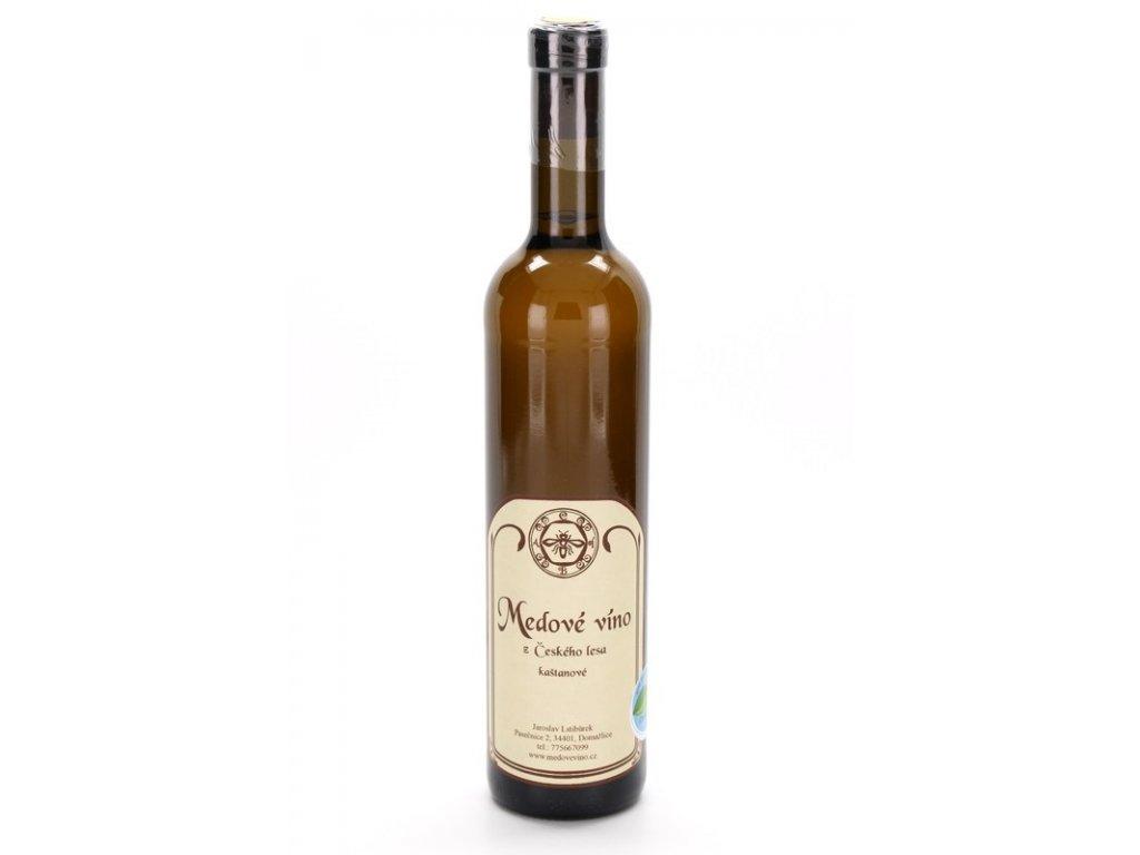Jaroslav Lstibůrek - Medové víno z Českého lesa - kaštanové - 0,5 l