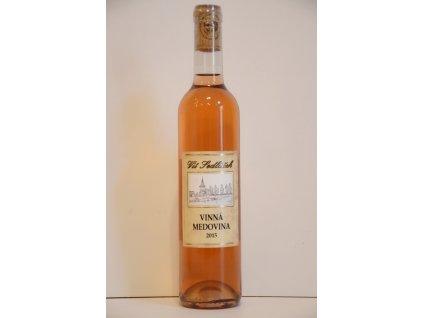 Vinařství Vít Sedláček - Vinná medovina - růžová - 0,5 l