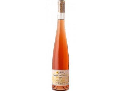 Vinařství Zborovský - Vinná medovina Rosé 2015 - 0,5 l
