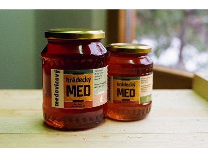 Hrádecký med - Hrádecký med medovicový - 0,48l