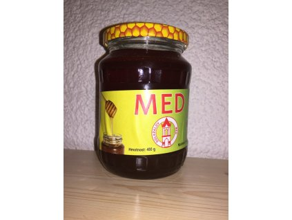 Doležalův med - Med medovicový - 0,48l  0,48l