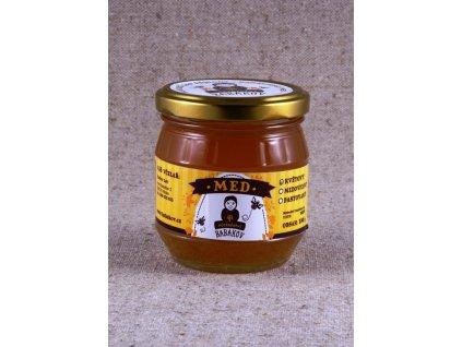 Včelařství Babákov - Med květový - 0,25 l