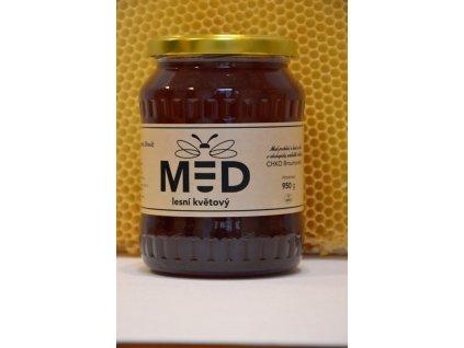 Včelí farma Dřevíč - Med lesní květový  1,00l