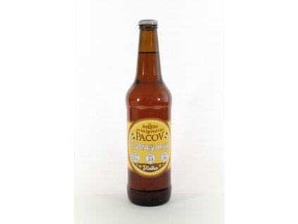 Rodinný minipivovar Pacov - Včelka - polotmavý speciál - medový - 0,50l  sklo