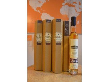 Čebelarstvo Oder - Medovina z kaštanového medu - polosladká - 0,375 l  sklo