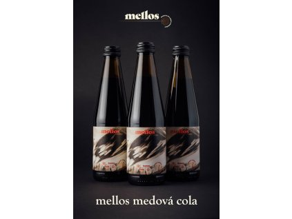 Mellos - Mellos - honey cola - 0,33l  sklo