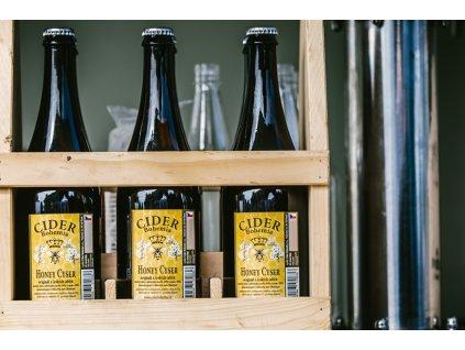 Cider Bohemia - Honey cyser (barrique) - 0,75 l  sklo