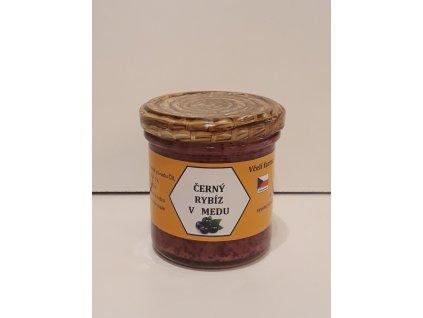 Včelí farma Kurtinovi - Černý rybíz v medu - 0,17 kg  sklo