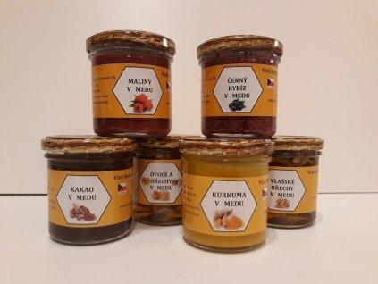 Včelí farma Kurtinovi - Kolekce medových pochoutek (6 ks)