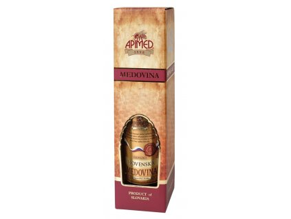 Apimed - Dárková krabička na medovinu 0,75 - 0,05 kg