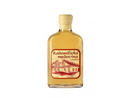 Radomilická medovina s propolisem - 0,2 l  sklo